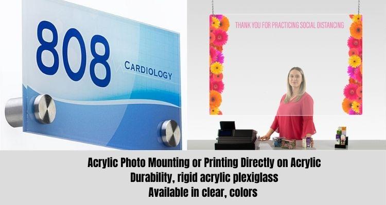 Acrylic-printing